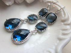 sapphire bridal earrings or just because earrings :)