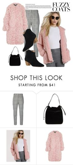 """""""Fuzzy Coat#"""" by sunny-chen-2 ❤ liked on Polyvore featuring Alexander Wang, French Connection and Marni"""