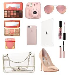 """Who would like this giveaway? Comment"" by giastyle on Polyvore featuring Too Faced Cosmetics, Fujifilm, ETUÍ, Apple, Dune, Oliver Peoples and Chanel"