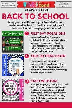 Looking for ways to make back to school week more than just students sitting and…