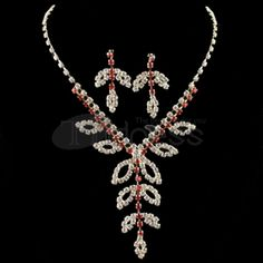Miss Gao Dang Rhinestone Necklace Set
