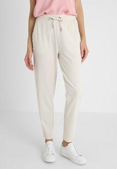 Soyaconcept Pantalones - sand - Zalando.es Leggings, Beige, Pajama Pants, Pajamas, Sweatpants, Fashion, Templates, Elastic Waist, Drop Crotch