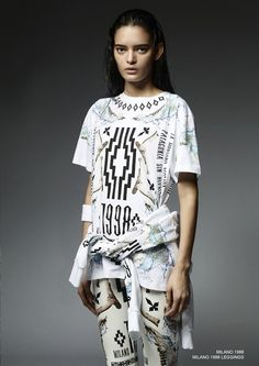Marcelo Burlon County of Milan Fall/Winter 2014 Expands Into a Wild Full-Fledged Collection Patagonia, Just Style, Leggings, Sporty Look, Fall Winter 2014, Printed Tees, Milan, Street Wear, Street Style