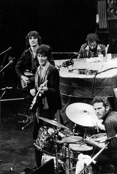 Richard Manuel, Rick Danko, Robbie Robertson & Levon Helm, as The Band (+ Garth Hudson).