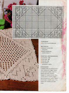 Talita Monteiro: Croche Tapete Quadros