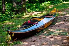 "Stitch-and-Glue Night Heron Sea Kayak from Nick Schade: 18' x 20"" x 41 lbs"