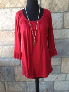 Tee For The Soul sells women's clothing. It's trendy. It's fashionable. We are an affordable online women's clothing boutique offering women's dresses, women's tunics, women's leggings, women's tops, women's blouses, women's cardigans and outerwear, women's jewelry and accessories. You can reach us through email (teeforthesoul@yahoo.com) or call 405-844-SOUL...