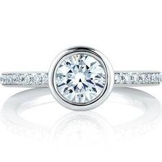Engagement Rings⎟PTDiamonds   Bezel Engagement Rings  #diamonds #enagagmentring