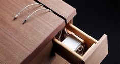 Extra-Visual: Gorgeous Desk Has Multi-Directional Drawers