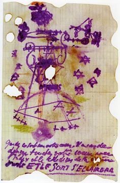 Antonin Artaud.  Carta a el doctor Lèon Fouks 1939