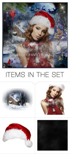 """""""❄ Magical Snow Kisses ❄"""" by lastchance ❤ liked on Polyvore featuring art, lastchance, forallonpoly, MerryChristmas and Christmas2015"""