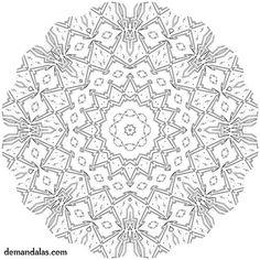 Mandala para imprimir adultos - De Mandalas