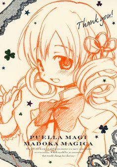 Tags: Anime, Scan, Aoki Ume, Official Art, Mahou Shoujo Madoka☆Magica