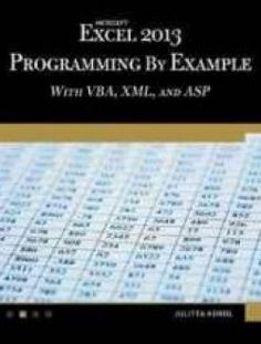 Free download or read online how to start a business analyst career microsoft excel 2013 programming by example with vba xml and asp free ebook fandeluxe Gallery