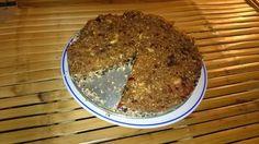 Raw jablečný koláč 2