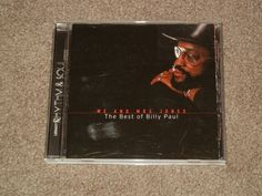 BILLY PAUL Me and Mrs. Jones The Best of Billy Paul (CD, Music, R&B, Soul, 1999) #PhillySoul