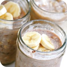 No more excuses for skipping breakfast! Make these the night before and grab it on your way out the door. Keep your ingredients low sugar and healthy. Happy-Go-Lucky: No-Cook Refrigerator Oatmeal in a Jar