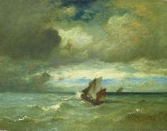 Choppy Sea, 1870 - Jules Dupre
