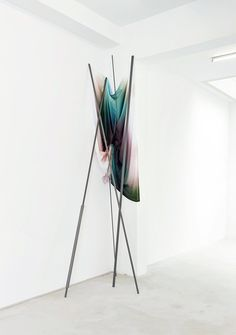 #Evidence, a solo show by Dutch artist Anouk Kruithof, at first appears to be merely pretty but upon closer look is revealed to be intriguingly conceptual.