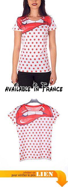 MEL Factory Hot Pois, T-Shirt Femme, Bianco, Small.  #Apparel #SHIRT