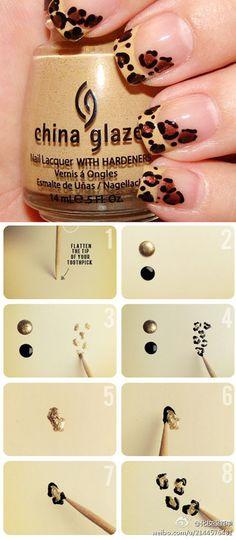 How to get 'em spots. Leopard