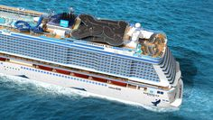 Amazing new cruise ship will have its own racetrack on board