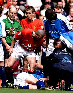 I shouldn't justify the challenge because it was truly horrible, but it represented Keane's anger after Haaland had slated him for allegedly faking an injury in a game against Leeds 4 years prior, something of course that Roy Keane didn't condone. That venomous challenge of course ended Haaland's career but also relieved Keano of his bottled up anger.