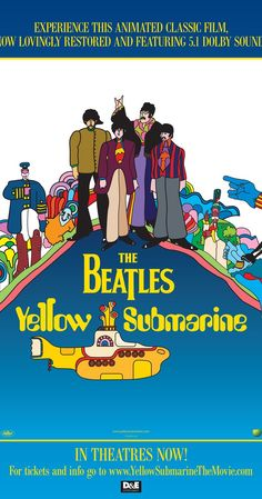 heinz edelmann art director // Directed by George Dunning.  With Paul McCartney, George Harrison, Ringo Starr…