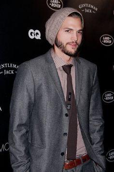 Ashton Kutcher you got some good style goin on there!