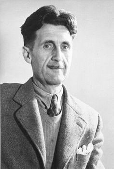 """George Orwell""""Good writing is like a windowpane."""" (PA)"""