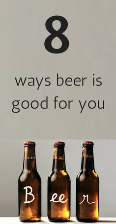 Obviously I must pin this. 8 ways beer is good for you