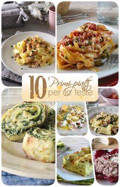 10 Primi piatti sfiziosi per le feste di Natale, raccolta di ricette