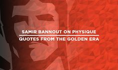 """You don't have to be a Mack Truck to be the best. I have always believed in the Porsche versus Cadillac. I love the beauty of the physique."" – Samir Bannout, 1983 Mr. Olympia.   Keep it Old School - www.OldSchoolLabs.com"
