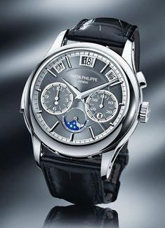 Patek Philippe 5208P Triple Complication in Platinum