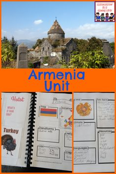 Armenia unit for homeschool geography #geographylesson #unitstudy #homeschooling History Class, Teaching History, Homeschool, Armenian Recipes, Geography Lessons, Unit Studies, How To Can Tomatoes, My Favorite Part, Mini Books
