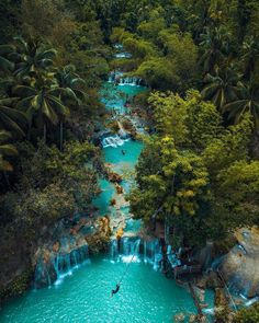 philippines travel tip Cambugahay Falls, Siquijor Island, Philippinen - Vacation Places, Vacation Destinations, Dream Vacations, Vacation Spots, Mexico Vacation, Holiday Destinations, Vacation Trips, Voyage Philippines, Philippines Travel