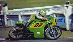 Greg Hansford Kawasaki R750 Sandown Park 1977