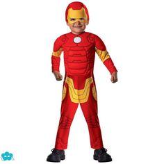 Disfraz de Iron Man para bebé
