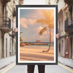 Placa decorativa praia - StickDecor   Decoração Criativa