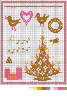 Sapin de Noël multicolore - Christmas tree multicolor