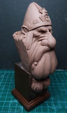 Dwarf bust ...Paul Bonner sketches by Carmine Giugliano · Putty&Paint