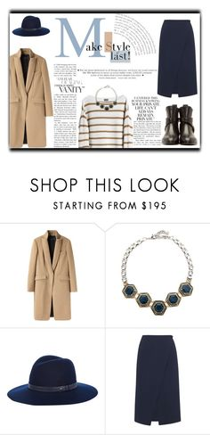 """""""Camel & Navy Blue"""" by alexandra-barbu-1 ❤ liked on Polyvore featuring rag & bone, MTWTFSS Weekday, Lulu Frost, Whistles and Chloé"""