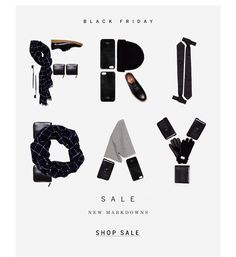 steven alan. black friday email. simple, clean, email design. email marketing.