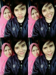 With mommy tercintaaa