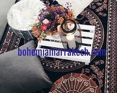 Bohemia Marrakech pouf leather Original by BohemiaMarrakechCom Square Pouf, Marrakesh, North Africa, Moroccan, Etsy Seller, The Originals, Trending Outfits, Leather, Bohemia