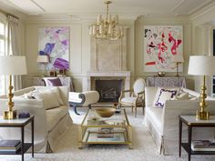 White, gold, glamour and amazing art