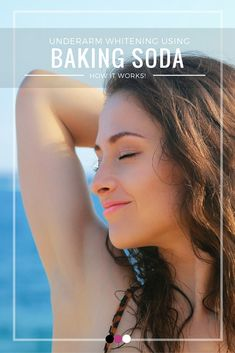 Underarm whitening just got easier! Here's how to use baking soda for underarm whitening!