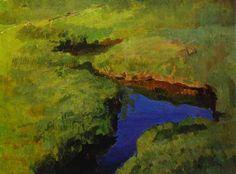 Konstantin Somov - Ruisseau