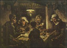 I mangiatori di patate, 1885. Vincent Van Gogh