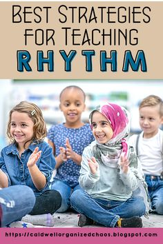 """Rhythm is one of those fundamental concepts that gets infused into so many of our lessons, especially in elementary general music. Is there ever such a thing as """"too many rhythm teaching ideas""""? Today, I want to share some over-arching thoughts on teaching rhythm in general and also round up some of my top strategies from previous blog posts in one place to make it easier to find everything you need for your lesson planning! Teaching Strategies, Teaching Resources, Teaching Ideas, Elementary Choir, Classroom Management Tips, Kindergarten Lessons, Lesson Planning, Teaching Music, Good Music"""